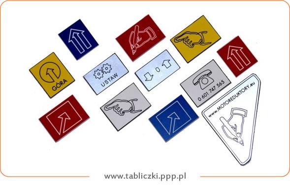 Tabliczki z symbolami